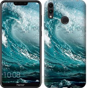 Чехол на Huawei Honor 8C Морская волна
