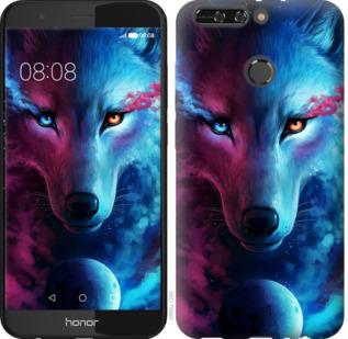 Чехол на Huawei Honor V9 / Honor 8 Pro Арт-волк