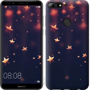 Чехол на Huawei Y7 Prime 2018 Падающие звезды