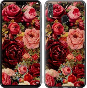 Чехол на Huawei Honor 8X Цветущие розы