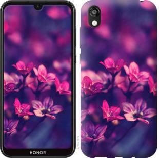 Чехол на Huawei Honor 8S Пурпурные цветы