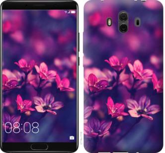 Чехол на Huawei Mate 10 Пурпурные цветы