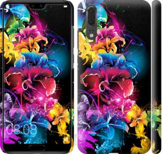 Чехол на Huawei P20 Абстрактные цветы