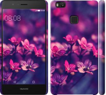 Чехол на Huawei P9 Lite Пурпурные цветы