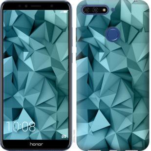 Чехол на Huawei Honor 7A Pro Геометрический узор v2