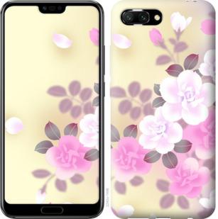 Чехол на Huawei Honor 10 Японские цветы