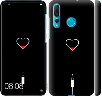 Чехол на Huawei Nova 4 Подзарядка