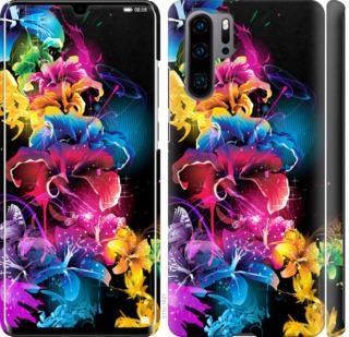 Чехол на Huawei P30 Pro Абстрактные цветы