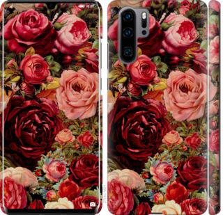 Чехол на Huawei P30 Pro Цветущие розы