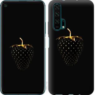 Чехол на Huawei Honor 20 Pro Черная клубника