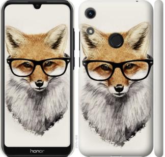 Чехол на Huawei Honor 8A Лис в очках