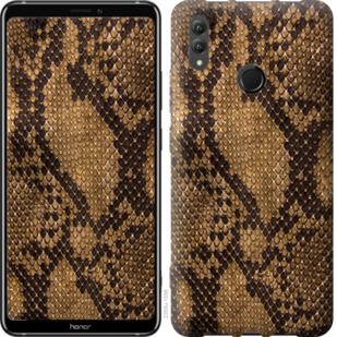Чехол на Huawei Honor Note 10 Змеиная кожа