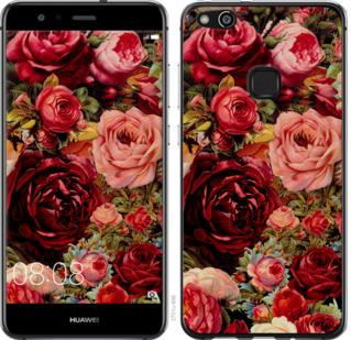 Чехол на Huawei P10 Lite Цветущие розы