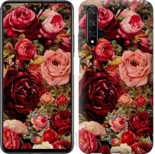 Чехол на Huawei Honor 20 Цветущие розы