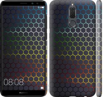 Чехол на Huawei Mate 10 Lite / Honor 9i Переливающиеся соты