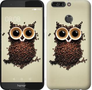 Чехол на Huawei Honor V9 / Honor 8 Pro Сова из кофе