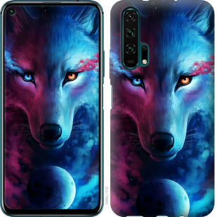Чехол на Huawei Honor 20 Pro Арт-волк