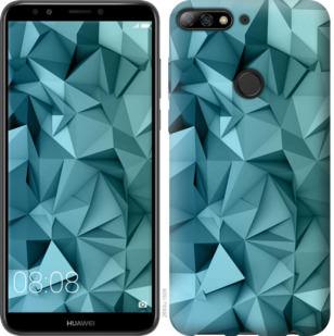 Чехол на Huawei Y7 Prime 2018 Геометрический узор v2