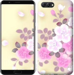 Чехол на Huawei Honor V10 / View 10 Японские цветы