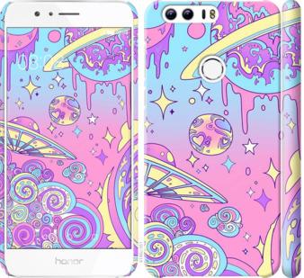 Чехол на Huawei Honor 8 Розовая галактика