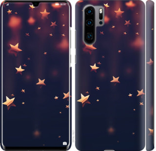 Чехол на Huawei P30 Pro Падающие звезды