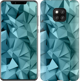 Чехол на Huawei Mate 20 Pro Геометрический узор v2