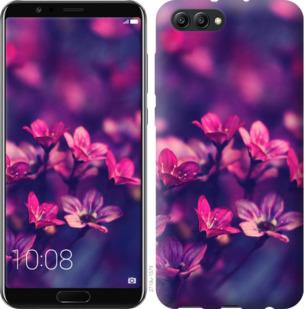 Чехол на Huawei Honor V10 / View 10 Пурпурные цветы