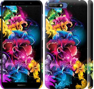 Чехол на Huawei Honor 9 Абстрактные цветы