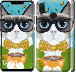 Чехол на Huawei Nova 3 CatandCoffee