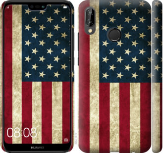 Чехол на Huawei P20 Lite Флаг США