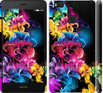 Чехол на Huawei P9 Lite Абстрактные цветы