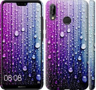 Чехол на Huawei P20 Lite Капли воды
