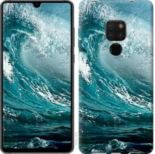 Чехол на Huawei Mate 20 Морская волна