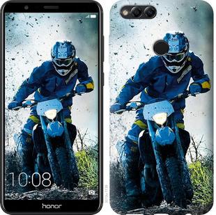 Чехол на Huawei Honor 7X Мотокросс
