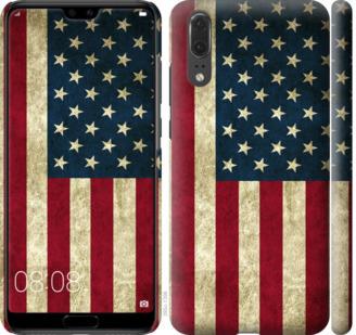 Чехол на Huawei P20 Флаг США