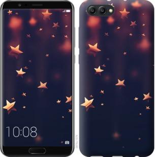 Чехол на Huawei Honor V10 / View 10 Падающие звезды