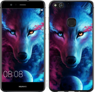 Чехол на Huawei P10 Lite Арт-волк