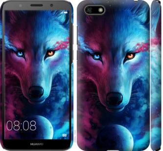 Чехол на Huawei Y5 2018 Арт-волк