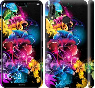 Чехол на Huawei P20 Lite Абстрактные цветы