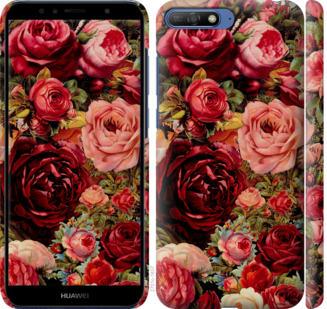 Чехол на Huawei Y6 2018 Цветущие розы