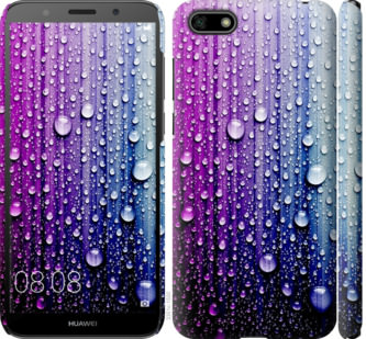 Чехол на Huawei Y5 2018 Капли воды