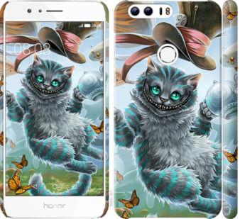 Чехол на Huawei Honor 8 Чеширский кот 2