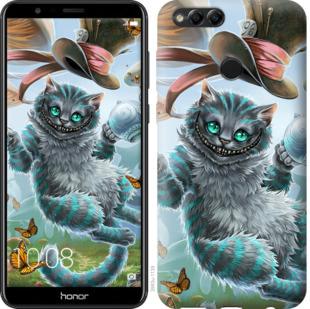 Чехол на Huawei Honor 7X Чеширский кот 2
