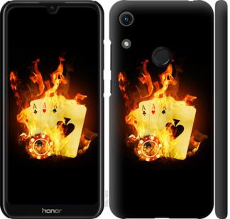 Чехол на Huawei Honor 8A Горящие карты