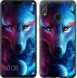 Чехол на Huawei Honor 8X Арт-волк