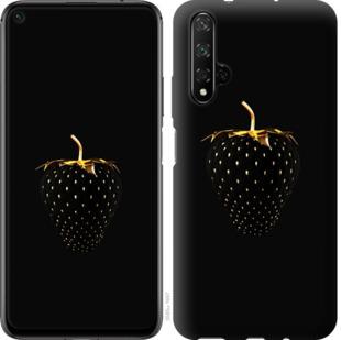 Чехол на Huawei Honor 20 Черная клубника