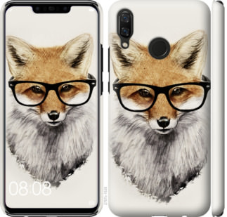 Чехол на Huawei Nova 3 Лис в очках