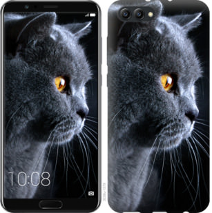 Чехол на Huawei Honor V10 / View 10 Красивый кот