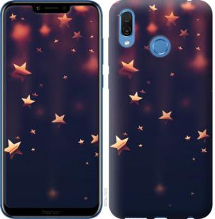 Чехол на Huawei Honor Play Падающие звезды