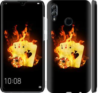 Чехол на Huawei Honor 10 Lite Горящие карты